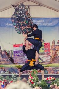 การแสดงนาฏศิลป์โดยคณะนาฏศิลป์ Thai Dance Academy จากกรุงลอนดอน